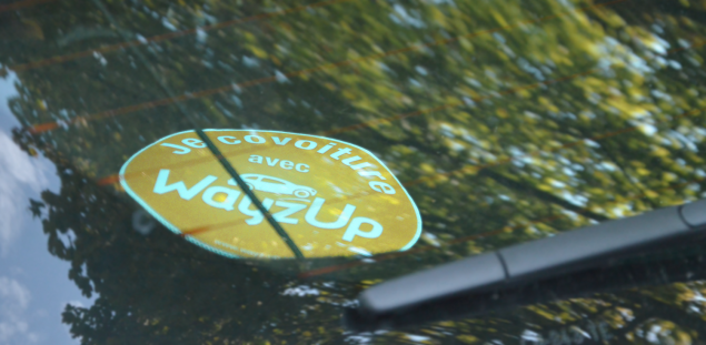 Stickers WayzUp pour le covoiturage domicile-travail