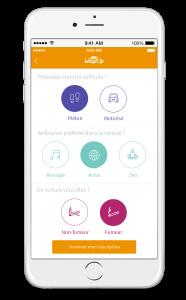 Compléter son profil sur l'application de covoiturage quotidien WayzUp