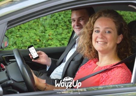 Application de covoiturage quotidien WayzUp