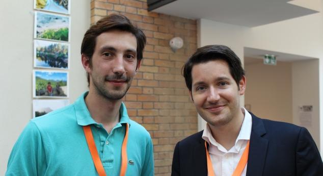 Julien et Cyrille, co-fondateur de WayzUp