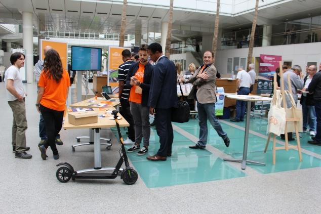 Forum de la mobilité au Technocentre Renault