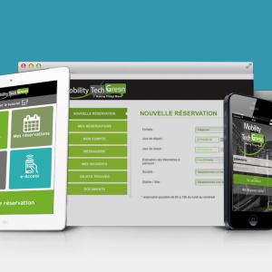 Application autopartage Mobility tech Green