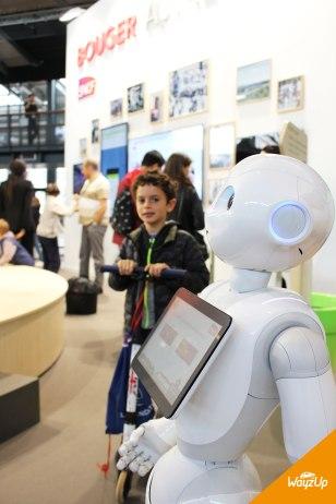 Robot Pepper SNCF WayzUp