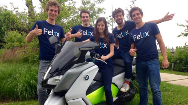 Felix app moto taxi