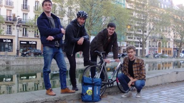 team Ridy vélo réparation mobilité