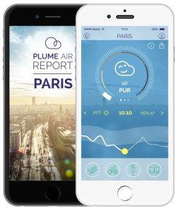 Application Plume pollution qualité air