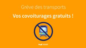 Greve SNCF covoiturage Klaxit