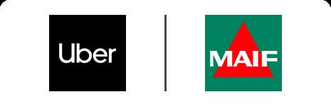 Partenariat UBER MAIF Klaxit Covoiturage domicile-travail