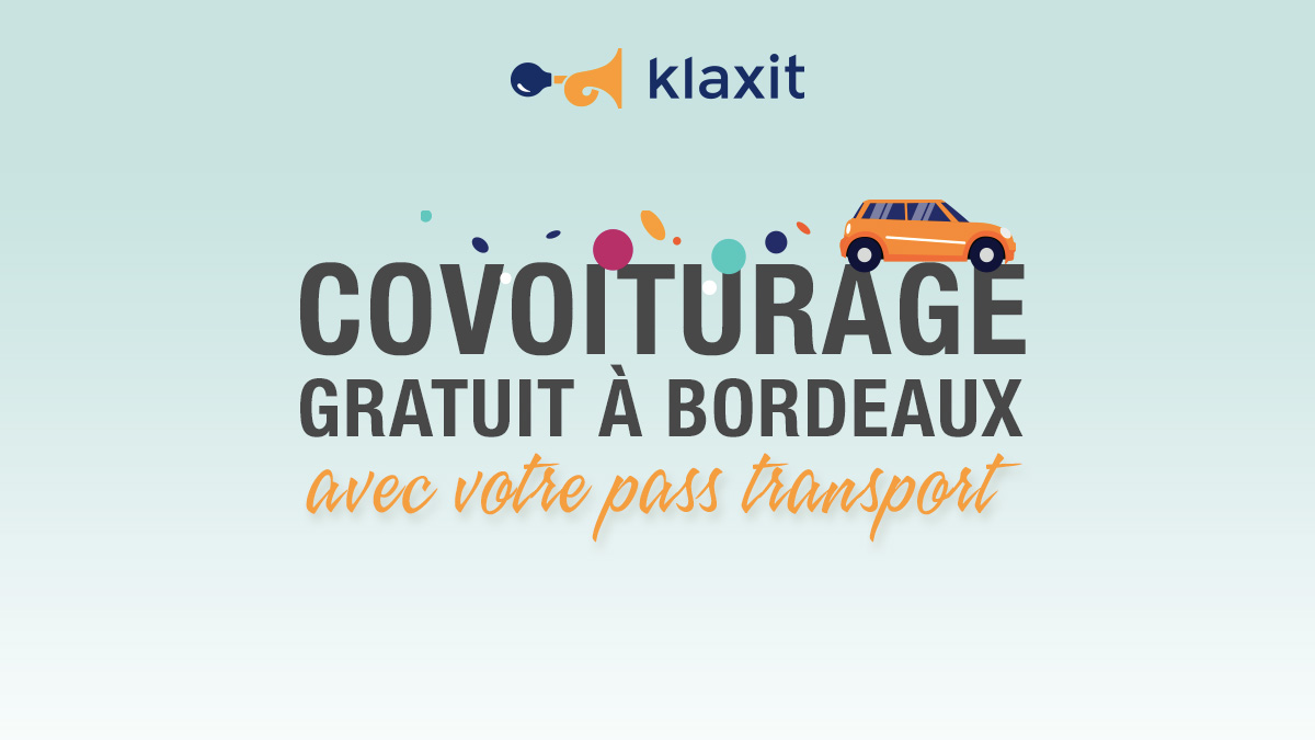 Covoiturage gratuit Bordeaux 25 km Pass Transport