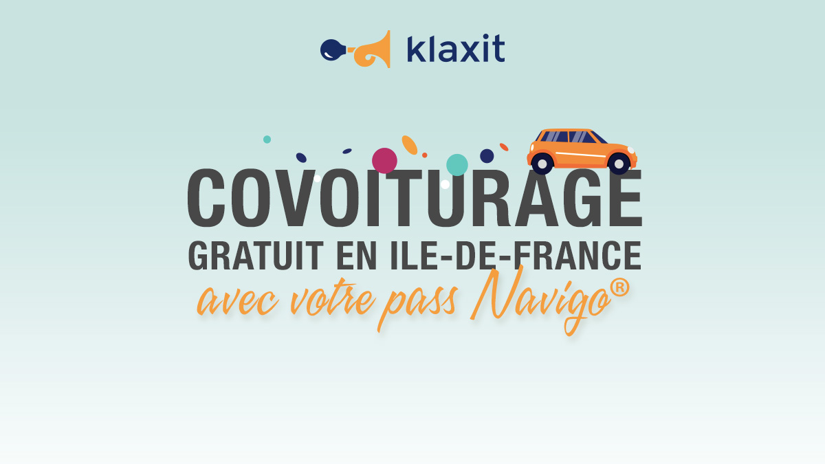 Covoiturage gratuit Paris Ile-de-France 25 km Pass Transport